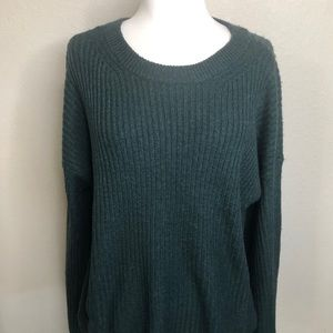 Michael Kors Emerald Green Long Sleeve sweater